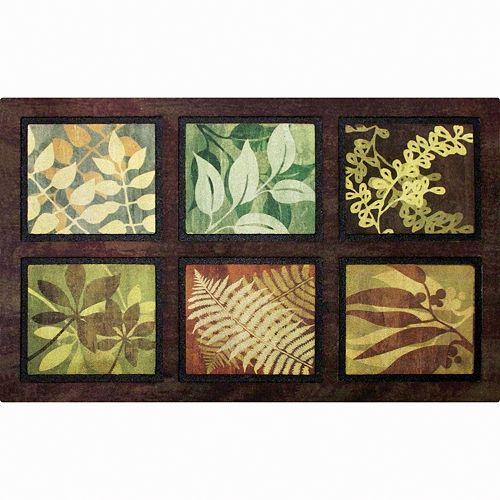 Apache Mills Masterpiece Leaves Doormat