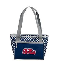 Logo Brand Ole Miss Rebels 16-Can Diamond Cooler Tote