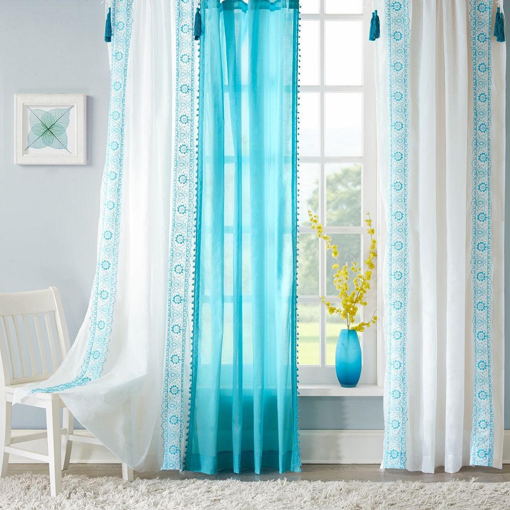 Mi Zone Sophie Sheer Window Curtain
