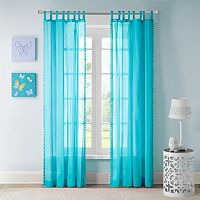 Mi Zone Sophie Sheer Window Curtain