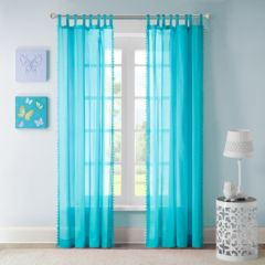 top-tab curtains & drapes - window treatments, | kohl's