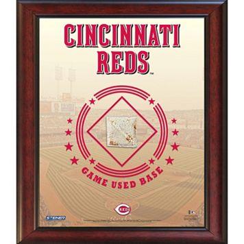 Steiner Sports Cincinnati Reds Game Used Base Stadium Collage