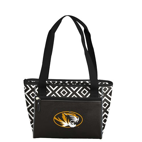 Logo Brand Missouri Tigers 16-Can Diamond Cooler Tote
