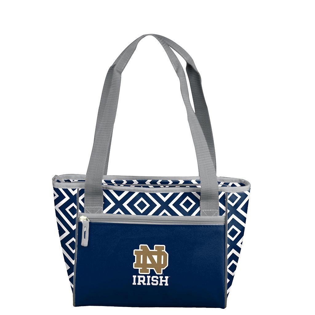 Logo Brand Notre Dame Fighting Irish 16-Can Diamond Cooler Tote