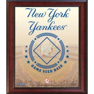 Steiner Sports New York Yankees Game Used Base Stadium Collage