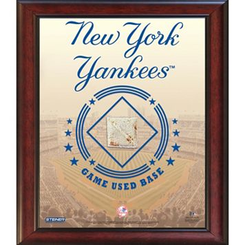Steiner Sports New York Yankees Game Used Base Stadium Collage