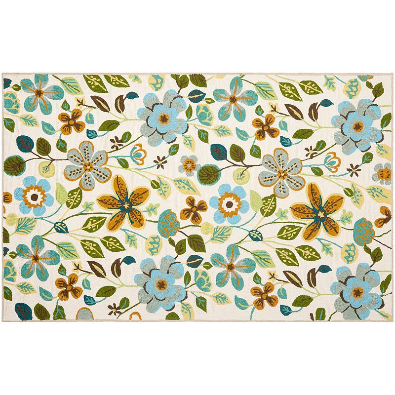 Safavieh Four Seasons Jasper Floral Indoor Outdoor Rug, 4X6 Ft
