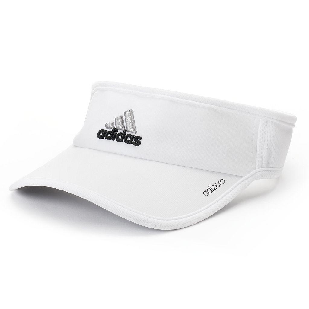 Women's adidas Adizero II White Visor