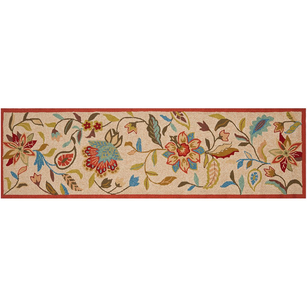 Safavieh Four Seasons Margate Floral Indoor Outdoor Rug