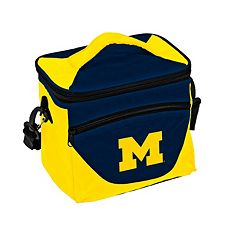 Logo Brand Michigan Wolverines Halftime Lunch Cooler