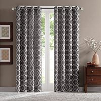 Madison Park Bergamo Room Darkening Window Curtain