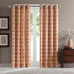 Madison Park 1-Panel Bergamo Room Darkening Window Curtain