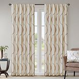 Madison Park 1-Panel Serendipity Window Curtain