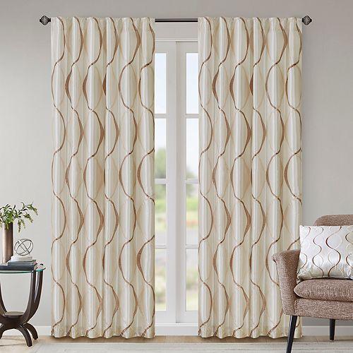 Madison Park 1-Panel Serendipity Window Curtain