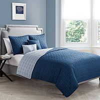 VCNY Hayden 5 pc Reversible Quilt Set