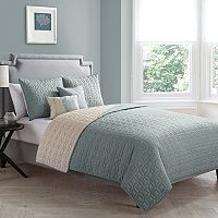 VCNY Hayden 5-pc. Reversible Quilt Set