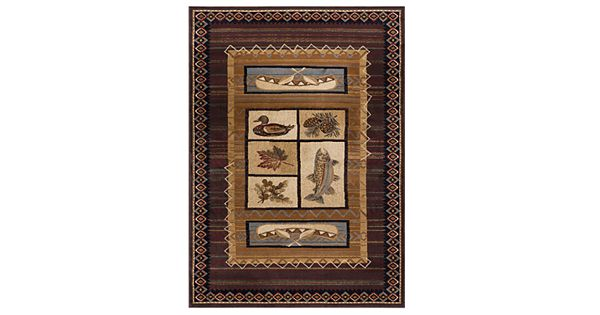 Discount 8x11 Area Rugs: KHL Rugs Lodge Rug