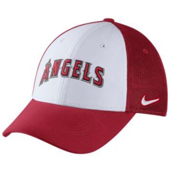 Adult Nike Los Angeles Angels of Anaheim Mesh Dri-FIT Flex Cap