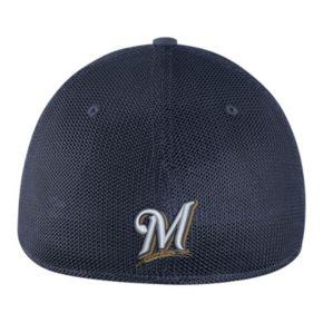 Adult Nike Milwaukee Brewers Mesh Dri-FIT Flex Cap