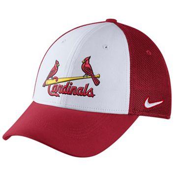 Adult Nike St. Louis Cardinals Mesh Dri-FIT Flex Cap