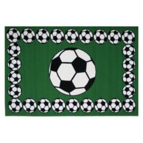 Fun Rugs Fun Time Soccer Time Rug