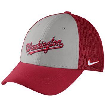 Adult Nike Washington Nationals Mesh Dri-FIT Flex Cap