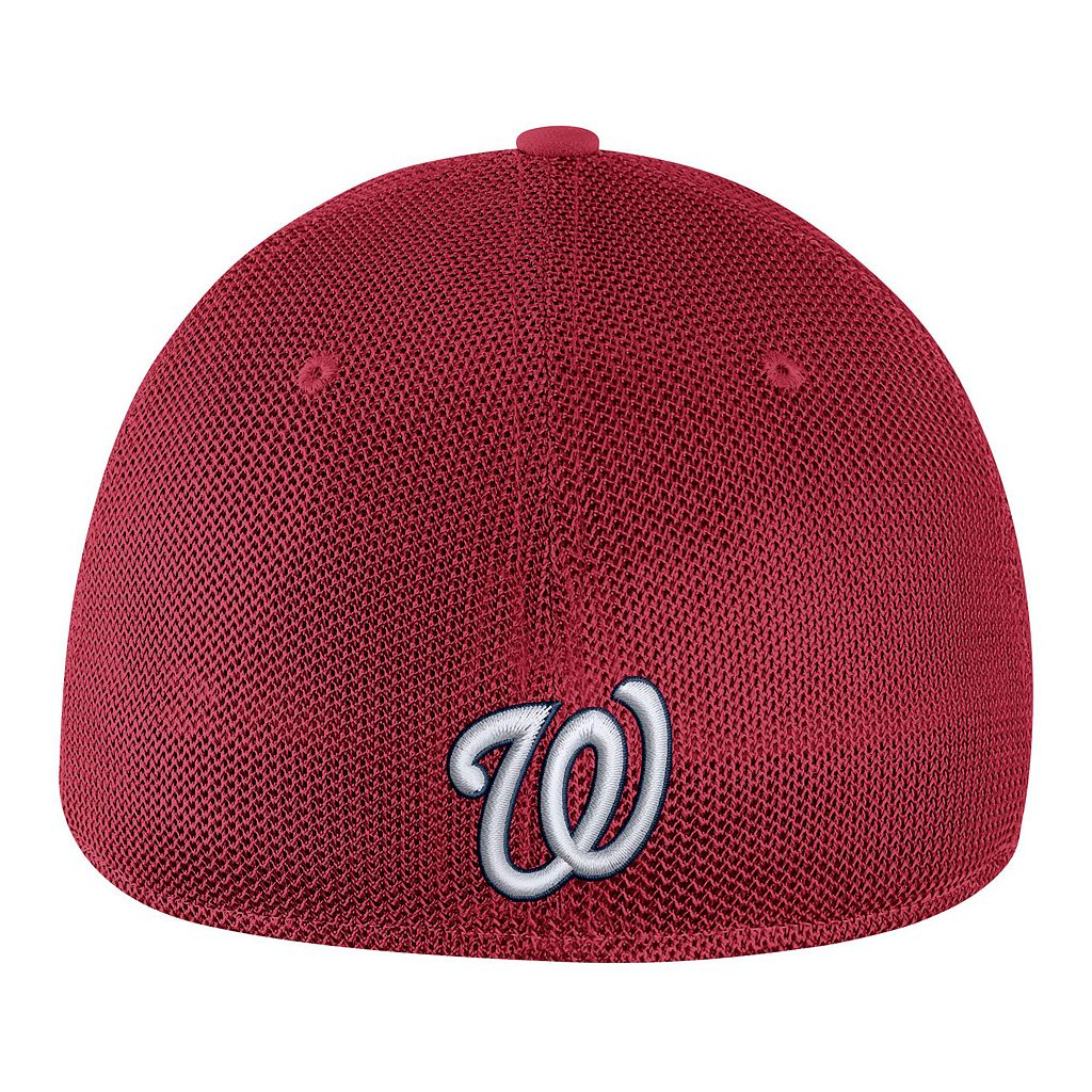 Adult Nike Washington Nationals Mesh Dri-FIT Flex Cap