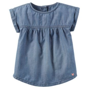 Girls 4-8 Carter's Denim Top