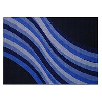 Fun Rugs Fun Time Wacky Blue Rug