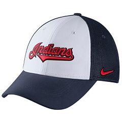 Adult Nike Cleveland Indians Mesh Dri-FIT Flex Cap