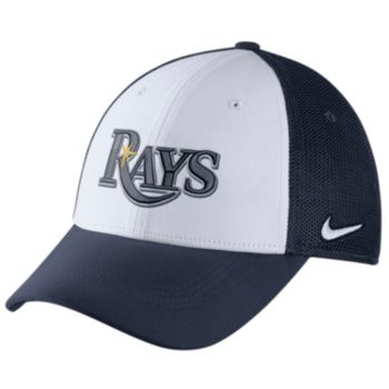 Adult Nike Tampa Bay Rays Mesh Dri-FIT Flex Cap