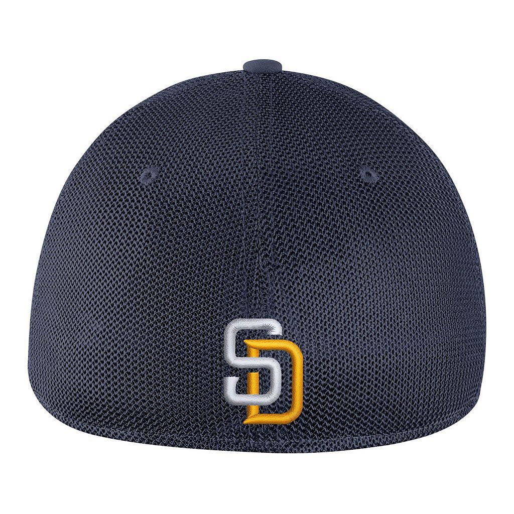 Adult Nike San Diego Padres Mesh Dri-FIT Flex Cap