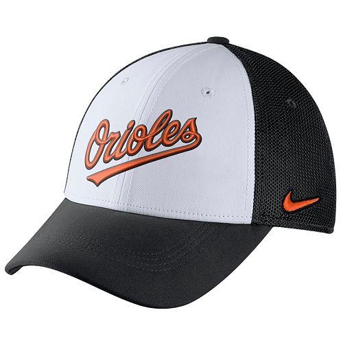 Adult Nike Baltimore Orioles Mesh Dri-FIT Flex Cap