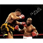 Steiner Sports Evander Holyfield Signed 8' x 10' Photo