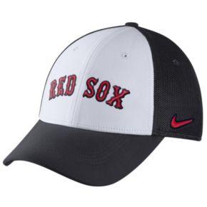Adult Nike Boston Red Sox Mesh Dri-FIT Flex Cap