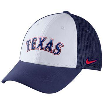 Adult Nike Texas Rangers Mesh Dri-FIT Flex Cap