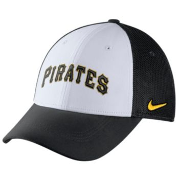 Adult Nike Pittsburgh Pirates Mesh Dri-FIT Flex Cap