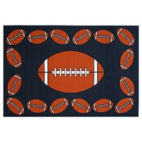 Fun Rugs Fun Time Football Time Rug
