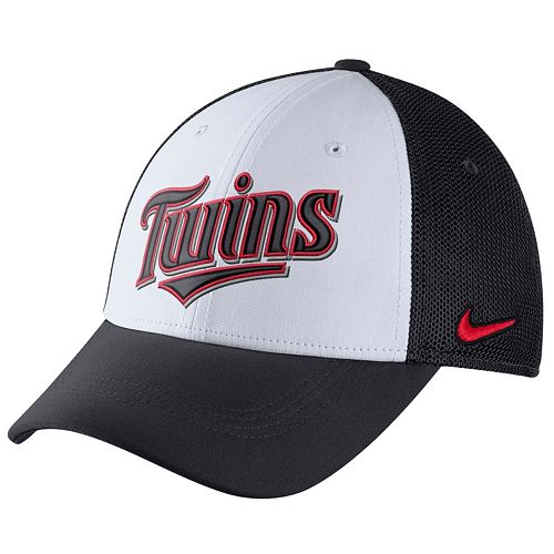 Adult Nike Minnesota Twins Mesh Dri-FIT Flex Cap
