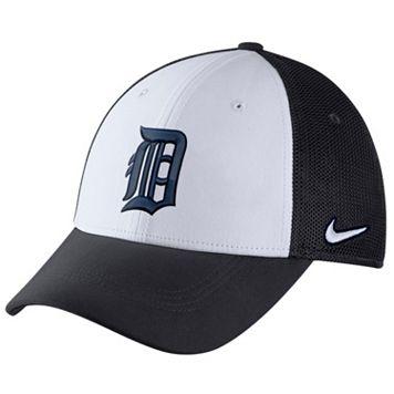 Adult Nike Detroit Tigers Mesh Dri-FIT Flex Cap
