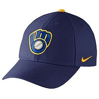 Adult Nike Milwaukee Brewers Wool Classic Dri-FIT Adjustable Cap