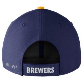 Adult Nike Milwaukee Brewers Wool Classic Dri-FIT Adjustable Cap