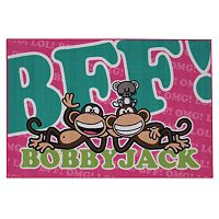 Fun Rugs Bobby Jack BFF Text Rug