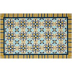 Safavieh Four Seasons Ocala Framed Suzani Indoor Outdoor Rug