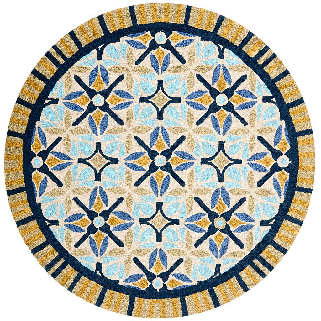 Safavieh Four Seasons Ocala Framed Suzani Indoor Outdoor Rug
