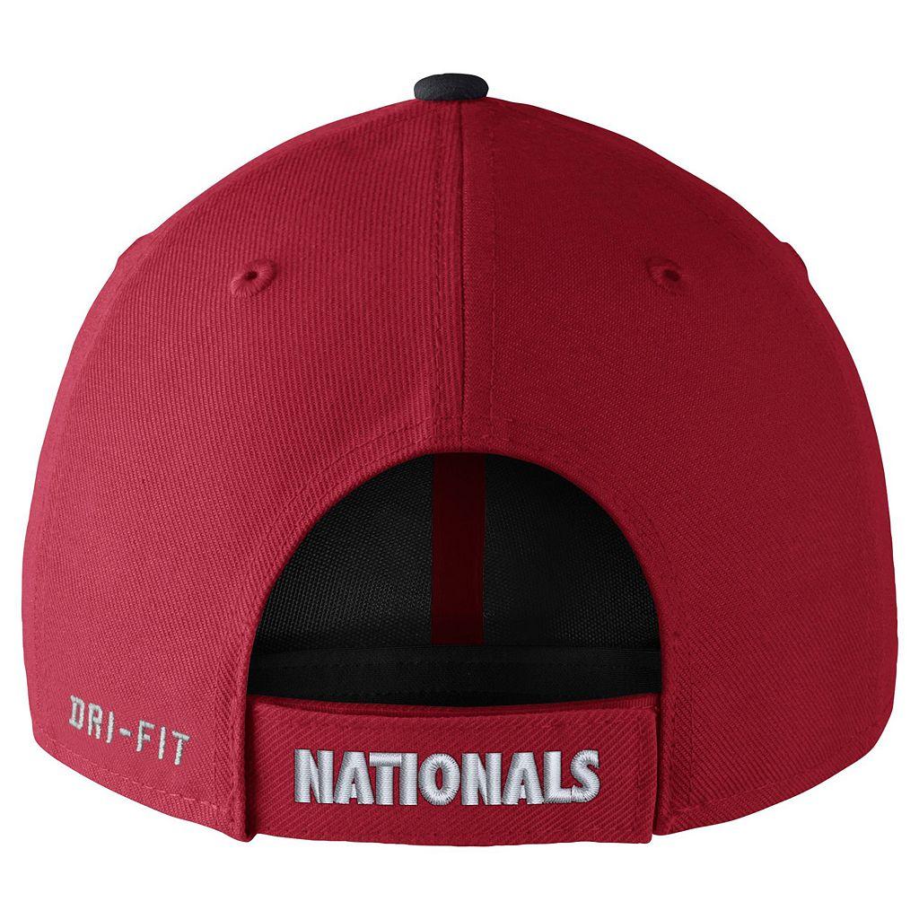 Adult Nike Washington Nationals Wool Classic Dri-FIT Adjustable Cap