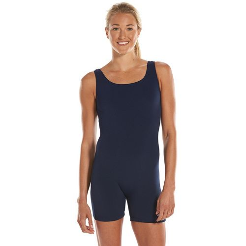 9f402e8d0b Women s Dolfin Aquatard One-Piece Swim Legsuit