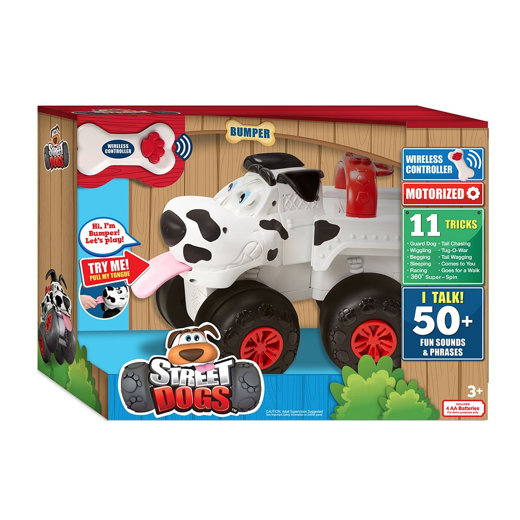 Street Dogs Bumper Interactive Truck