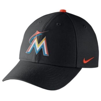 Adult Nike Miami Marlins Wool Classic Dri-FIT Adjustable Cap
