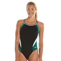 Women's Dolfin Team Colorblock DBX Back Competitive One-Piece Swimsuit